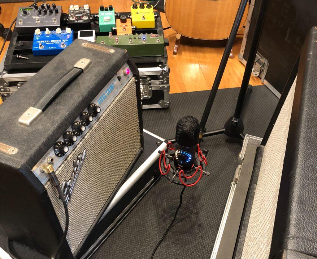Spatial Mic Guitar Amps