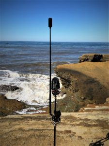 Spatial Mic Field Recording Insta360 OneX Sea Cove