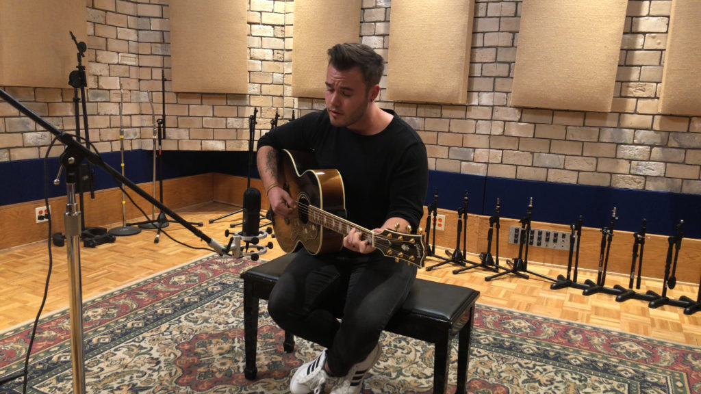 Spatial Mic Recording Guitar Vox