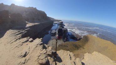 Spatial Mic Field Recording 360 Audio Sea Cove