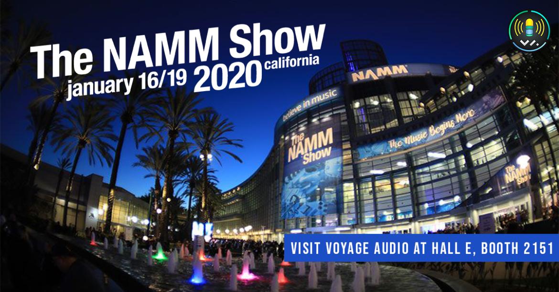 NAMM 2020 Voyage Audio
