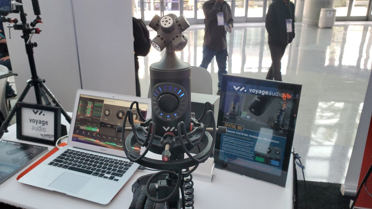 Spatial Mic at NAMM 2020 Media Day
