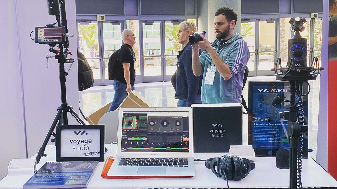 NAMM 2020 Media Day Spatial Mic