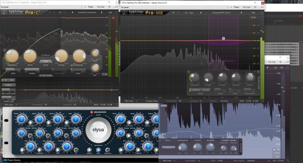 Mastering Chain - live recording with Spatial Mic