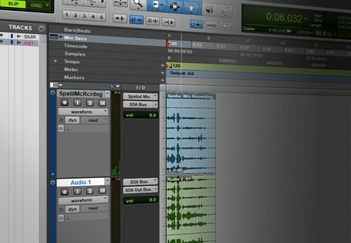 Pro Tools Ultimate with Spatial Mic